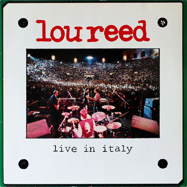 Lou Reed Lou Reed - Live In Italy (2 LP) lou reed lou reed coney island baby