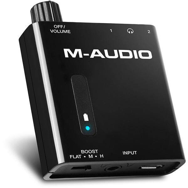 Усилитель для наушников M-Audio Bass Traveler ламповый усилитель для наушников cary audio design hh 1 black