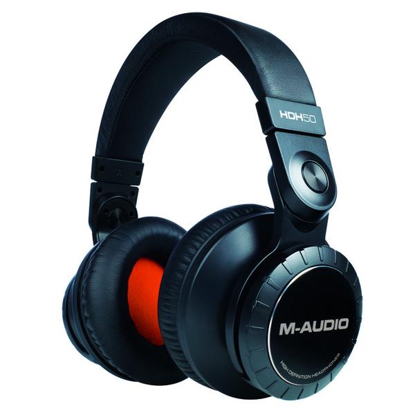 купить Охватывающие наушники M-Audio HDH50 Black онлайн