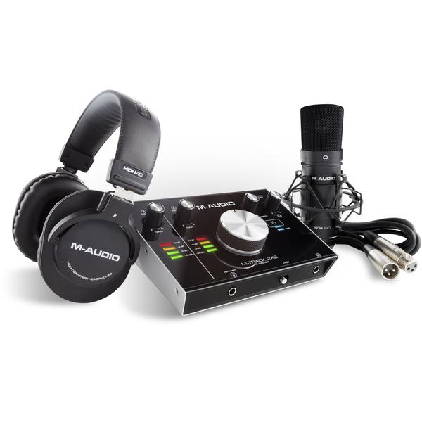 Внешняя студийная звуковая карта M-Audio M-Track 2X2 Vocal Studio Pro стоимость