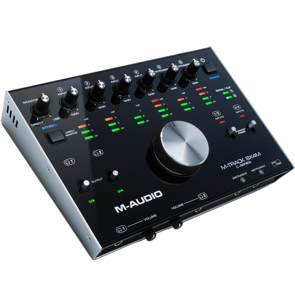 Внешняя студийная звуковая карта M-Audio M-Track 8X4M стоимость