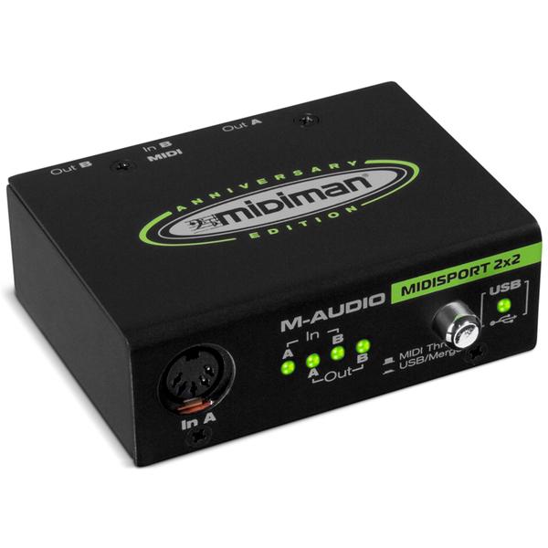 Внешняя студийная звуковая карта M-Audio MidiSport 2x2 USB стоимость