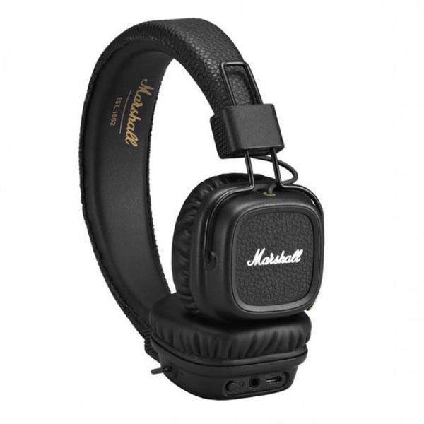 Беспроводные наушники Marshall Major II Bluetooth Black цена и фото