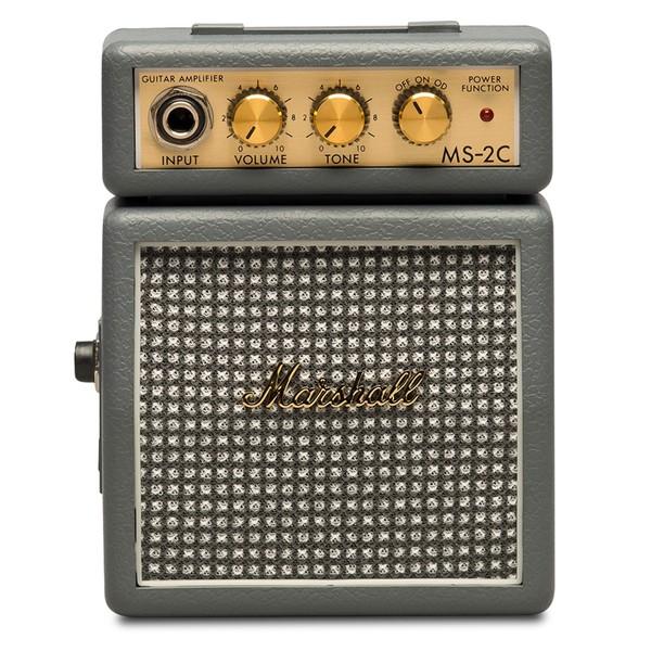 Гитарный мини-усилитель Marshall Гитарный мини-комбоусилитель MS-2C гитарный мини усилитель vox гитарный мини комбоусилитель ac2 rhythm