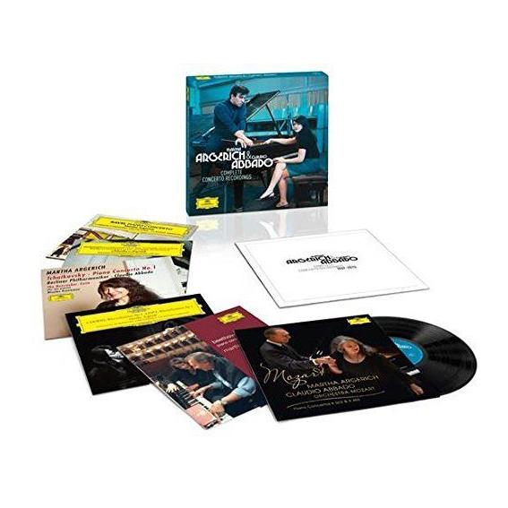 Martha Argerich Claudio Abbado Martha Argerich Claudio AbbadoMartha Argerich; Claudio Abbado - The Complete Concerto Recordings (box) (6 LP) martha argerich