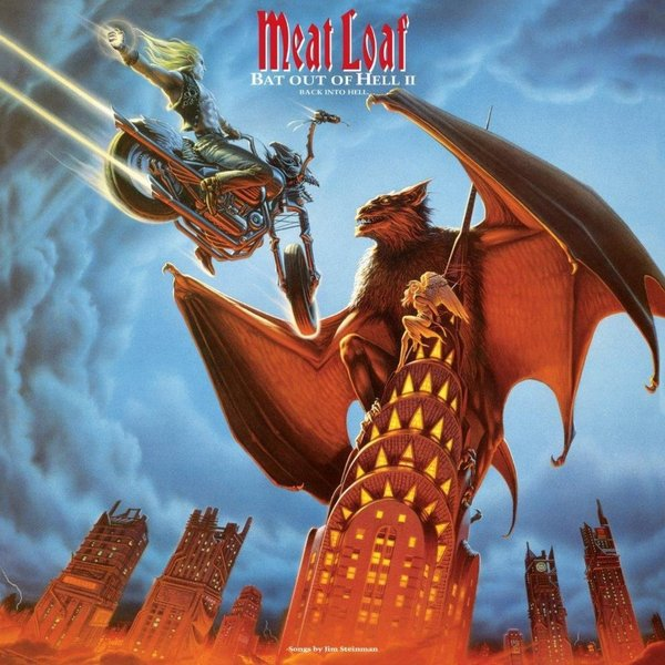 Meat Loaf Meat Loaf - Bat Out Of Hell Ii: Back Into Hell (2 LP) u convex pouch back hollow out design string t back