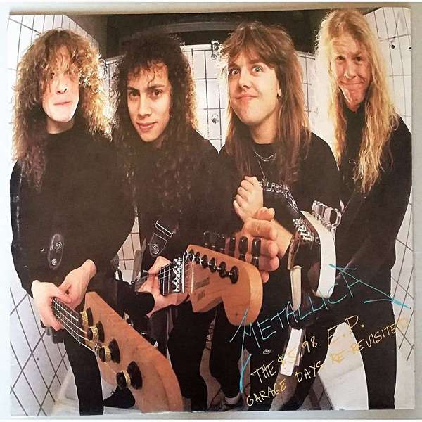 Metallica Metallica - The $5.98 E.p. - Garage Days Re-revisited (colour) цена