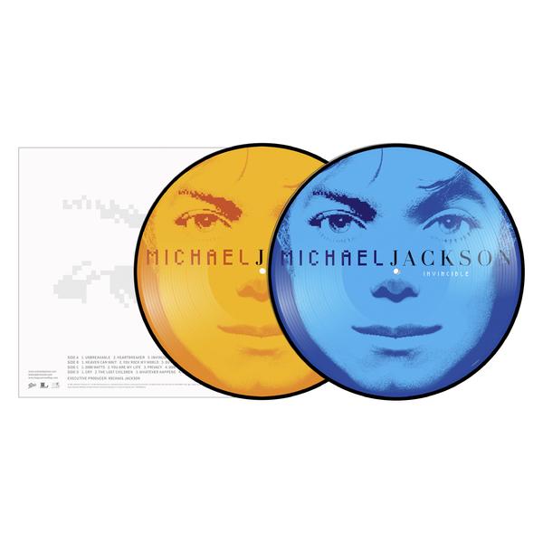 Michael Jackson Michael Jackson - Invincible (2 Lp, Picture) michael jackson michael jackson off the wall picture