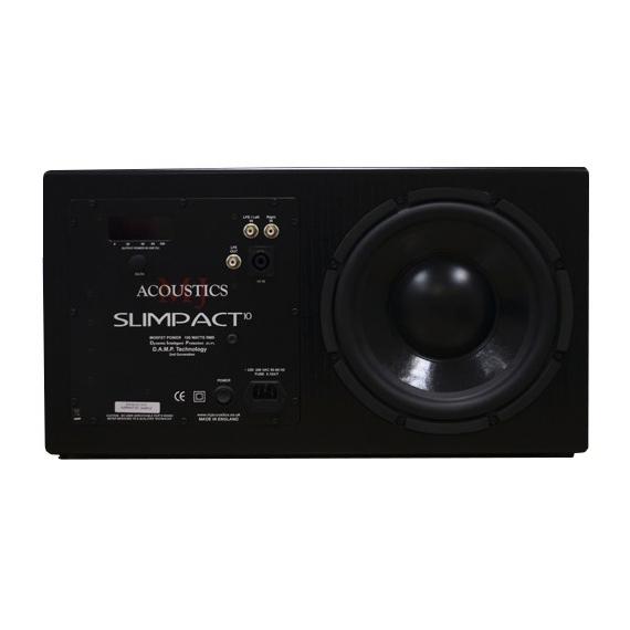 лучшая цена Активный сабвуфер MJ Acoustics Slimpact 10 Black Ash