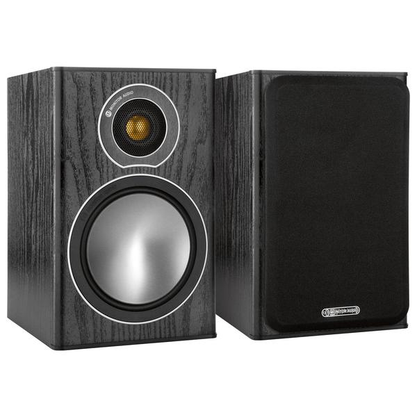 Полочная акустика Monitor Audio Bronze 1 Black Oak bogeer yt 833 1 8 lcd bicycle stopwatch black 1 x cr2032