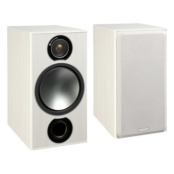 Полочная акустика Monitor Audio Bronze 2 White Ash bicycle electronic plastic horn black white 2 x aaa
