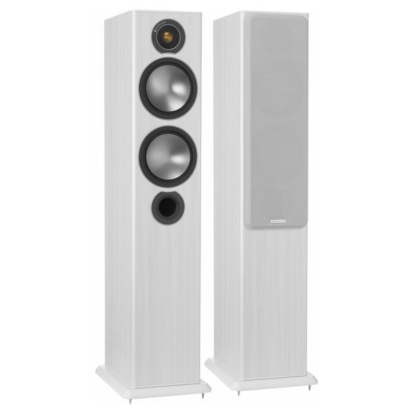 Напольная акустика Monitor Audio Bronze 5 White Ash центральный громкоговоритель monitor audio bronze centre white ash