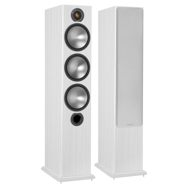 Напольная акустика Monitor Audio Bronze 6 White Ash центральный громкоговоритель monitor audio bronze centre white ash