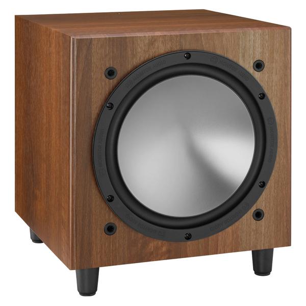 лучшая цена Активный сабвуфер Monitor Audio Bronze W10 Walnut