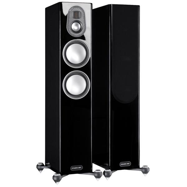 Напольная акустика Monitor Audio Gold 200 5G Piano Black стереоусилитель мощности cary audio design sa 200 2 black