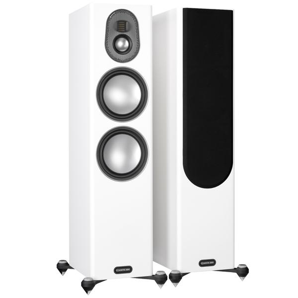 Напольная акустика Monitor Audio Gold 300 5G Satin White цена и фото