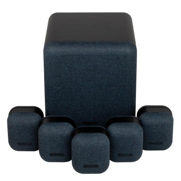 Комплект акустики 5.1 Monitor Audio MASS Surround Sound Midnight Black цена