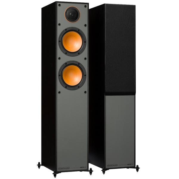 Напольная акустика Monitor Audio Monitor 200 Black стереоусилитель мощности cary audio design sa 200 2 black