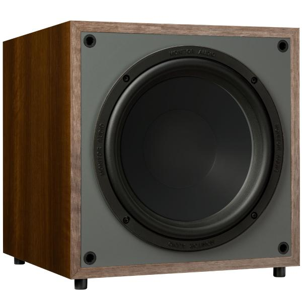 Активный сабвуфер Monitor Audio Monitor MRW-10 Walnut активный сабвуфер mj acoustics reference 100 mkii walnut