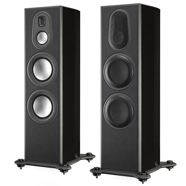 Напольная акустика Monitor Audio Platinum PL300 II Black Gloss monitor audio radius 225 high gloss white