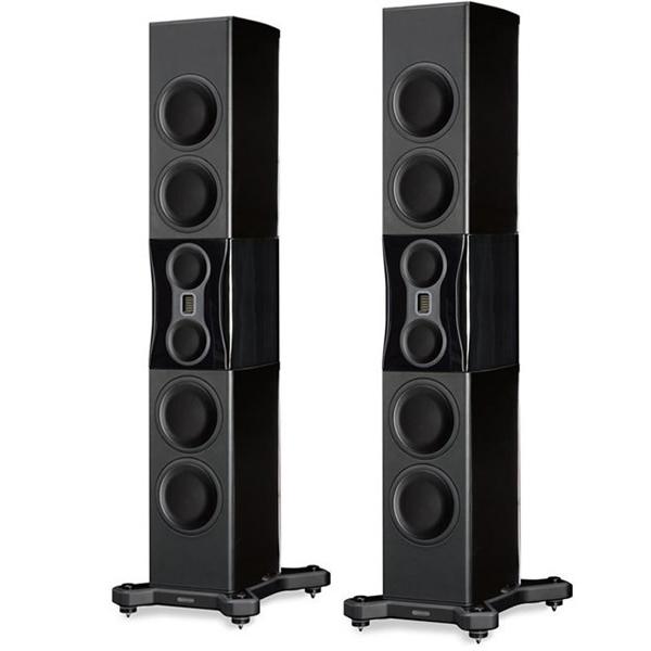 Напольная акустика Monitor Audio Platinum PL500 II Black Gloss monitor audio radius 225 high gloss white