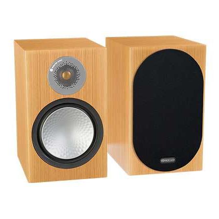 Полочная акустика Monitor Audio Silver 100 Natural Oak monitor audio silver centre natural oak
