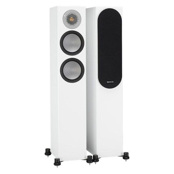 Напольная акустика Monitor Audio Silver 200 White профессиональный динамик нч sica 15s4pl 8 ohm