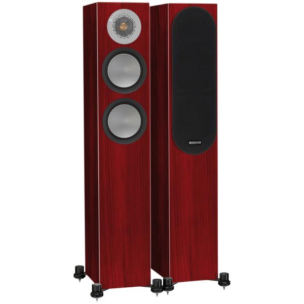 Напольная акустика Monitor Audio Silver 200 Rosenut профессиональный динамик нч sica 15s4pl 8 ohm