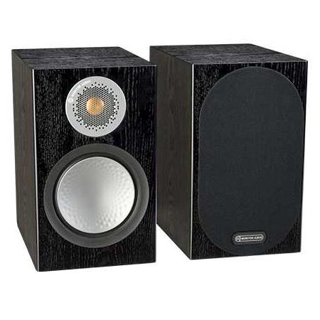 Полочная акустика Monitor Audio Silver 50 Black Oak monitor audio silver centre natural oak