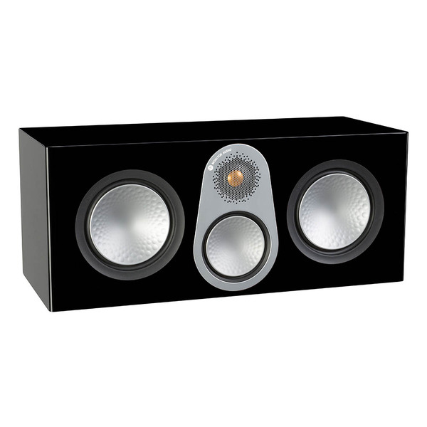 лучшая цена Центральный громкоговоритель Monitor Audio Silver C350 Black Gloss
