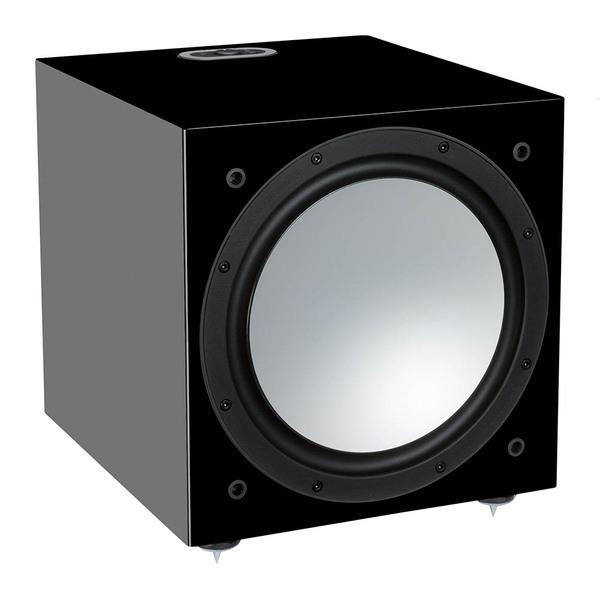 Активный сабвуфер Monitor Audio Silver W12 6G Black Gloss цена и фото
