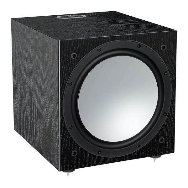 Активный сабвуфер Monitor Audio Silver W12 6G Black Oak monitor audio silver centre natural oak