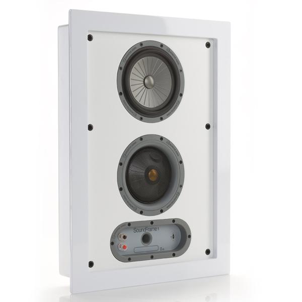 Настенная акустика Monitor Audio SoundFrame 1 OnWall White стоимость