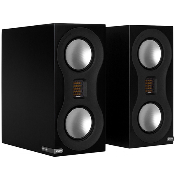 Полочная акустика Monitor Audio Studio Satin Black lileng 821 usb powered 3 blade 2 mode fan black 4 x aa
