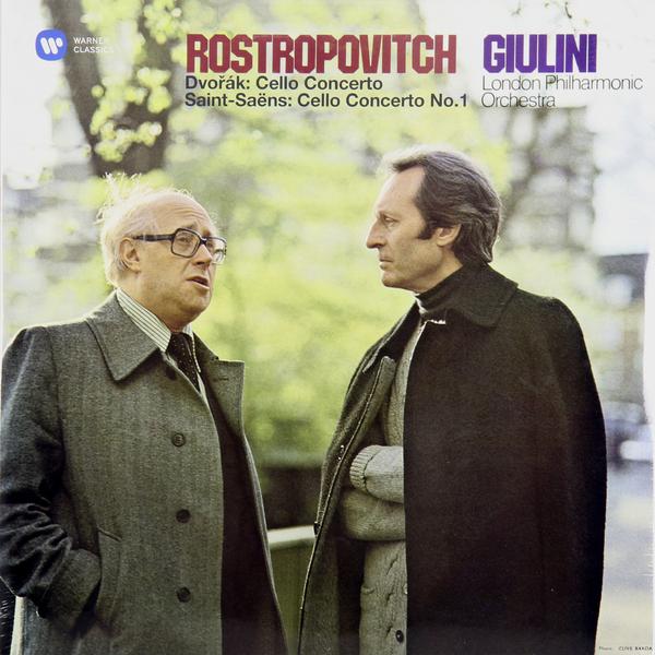 Mstislav Rostropovich Mstislav Rostropovich - Dvorak: Cello Concerto Saint-saens: Cello Concerto No. 1 (2 Lp, 180 Gr) жаклин дю пре jacqueline du pre dvorak cello concerto in b minor op 104 lp