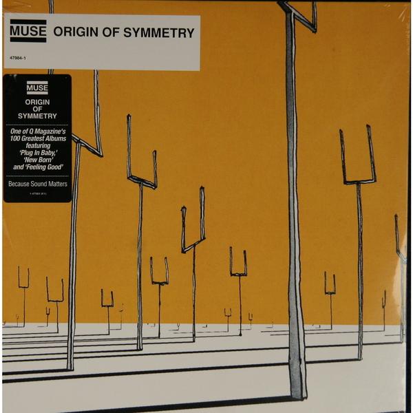 MUSE MUSE - Origin Of Symmetry (2 LP) цена
