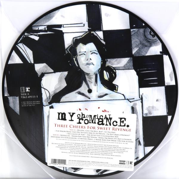 My Chemical Romance My Chemical Romance - Three Cheers For Sweet Revenge (picture) barbara mccauley blackhawk s sweet revenge