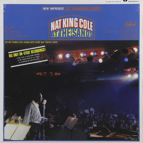 Nat King Cole Nat King Cole - At The Sands кеды coura coura co048awshj48
