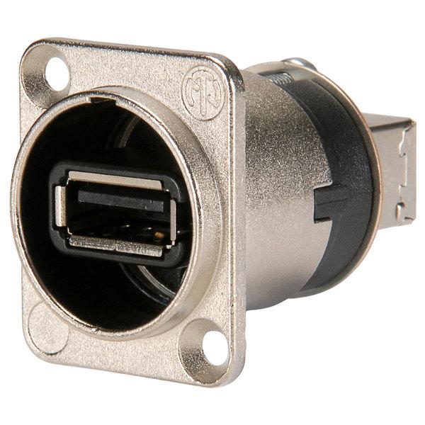 Терминал USB Neutrik NAUSB-W терминал powercon neutrik nac3mp hc
