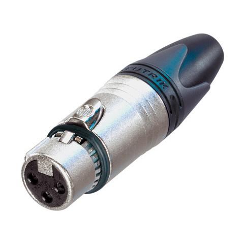 Разъем XLR Neutrik NC3FXX-EMC ce emc lvd fcc ozonator portable