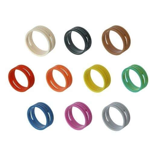 Маркировочное кольцо Neutrik XXR-4 Yellow защитный колпачок neutrik bxx 4 yellow