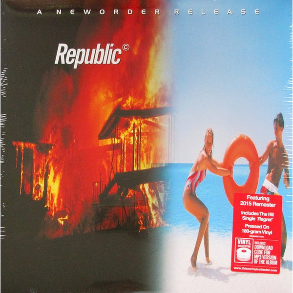 New Order New Order - Republic new order new order get ready 180 gr