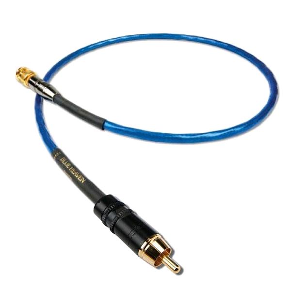 Кабель цифровой коаксиальный Nordost Blue Heaven BNC-RCA 1 m аксессуар кабель orient bnc rca cvap 20