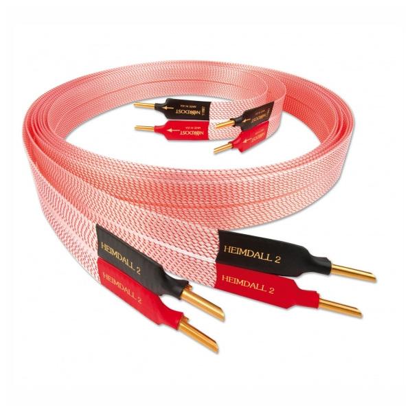 Кабель акустический готовый Nordost Heimdall 2 2.5 m кабель usb nordost heimdall 2 1 m