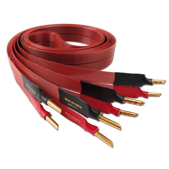 Кабель акустический готовый Nordost Red Dawn LS 3 m кабель сетевой готовый nordost red dawn 1 m