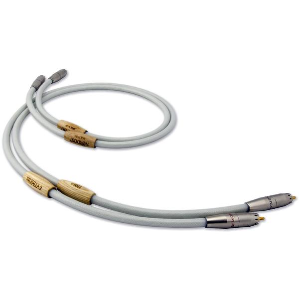Кабель межблочный аналоговый RCA Nordost Valhalla 2 0.6 m катушка индуктивности jantzen cross coil 16 awg 1 3 mm 0 23 mh 0 15 ohm