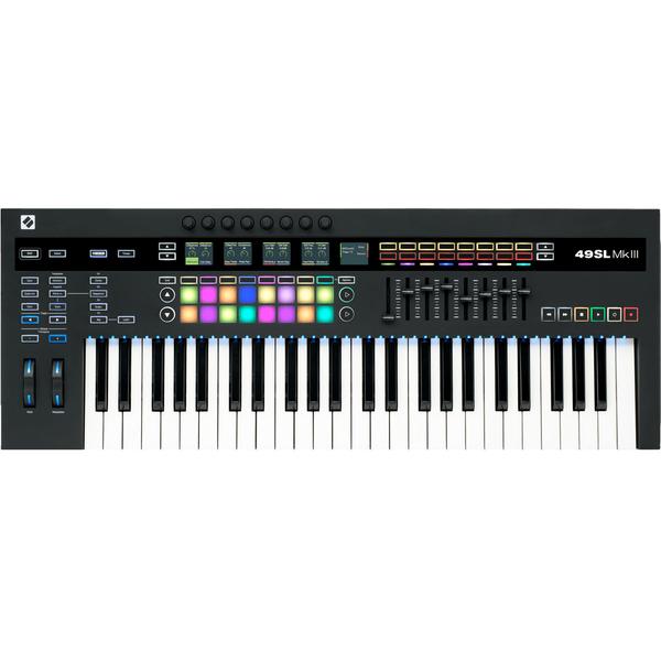 MIDI-клавиатура Novation 49 SL Mk III midi контроллер novation launchpad mini mk ii