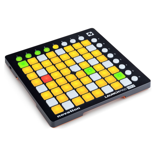 DJ контроллер Novation Launchpad Mini MK2 midi контроллер novation launchpad pro