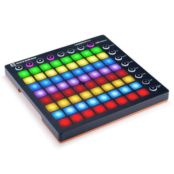 DJ контроллер Novation Launchpad MK2 midi контроллер novation launchpad pro
