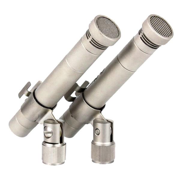 Студийный микрофон Октава МК-012-01 Matte Nickel (стереопара, в картонной коробке) студийный микрофон октава мк 519 matte black в деревянном футляре